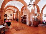 Residence Villa Elena. Reception