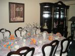 Breakfast Area - you will like Susan's breakfast very much