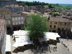 St Emilion - World Heritage site and centre of the Bordeaux wine region