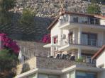villa manzara looking from Kalkan