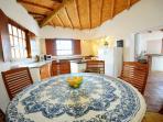 'Eat in' kitchen takes 8 happily - panoramic views again through big windows