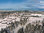 Rogla Ski resort (areal view)