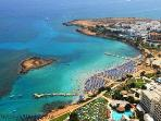 Aerial view of Fig Tree Bay