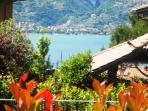 Como lake view from the garden - 1