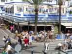 Estepona Puerto Marina with Restaurants and Bars