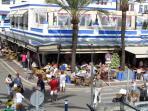 Estepona Puerto Marina with Restaurants and Bars