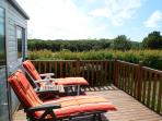 Fantastic views over a woodland setting