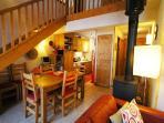 Apartment Amethystes B4  ~ Open plan living/dining/kitchen