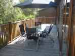 The Deck and deck furniture