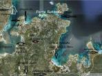 mappa spiagge