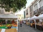 Mercado de artesanía, a 10 metros