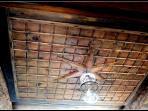 The antique ceiling
