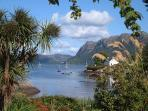 Plockton Bay is a 10 minute walk from the Sidings
