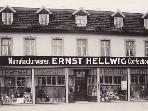 die 'Herthaburg' vor 100 Jahren
