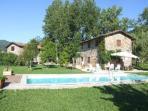 Houses and pool