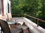 Wald Villa Üssbach Balkon