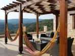 Hammocks and Sofa Set on the Balcony
