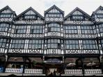 Stunning architecture surrounds you in Chester