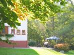 Wald Villa Üssbach Garten