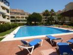 Hacienda Playa Large Swimming Pool + Childrens pool with plenty of sunbeds
