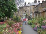 Bakewell town gardens in summer splendour