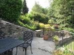 Our garden seating area allows you to take in the Summer with a glass of your favourite drink.