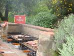 New BBQ /  Kitchen for Fiordaliso house into private garden