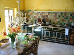 The classic Provencal kitchen with top equipment