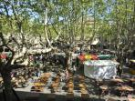Restaurants and cafes of la Place aux Herbes