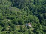 Landscape in Val di Vara