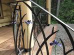 Hand Made Iris Railing
