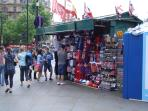 A 'London' stall - at the end of the road