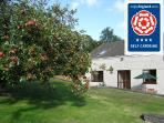 Visit Britain 4 star self catering, cycle friendly, walking friendly and family friendly