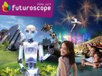 Futuroscope, a great treat for the kids, and the most visited attraction in the Poitou-Charentes