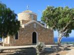 One of the many beautiful churches in Cyprus
