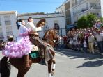 pilgrimage (romería) which takes place every year on last Saturday in May.