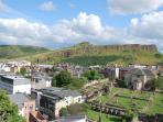 View from Calton Hill over Arthur's Seat