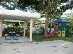 Playground inside complex