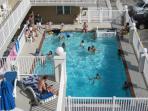 Second heated pool