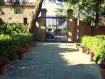 Residence Villa Elena. entrance in Via Palestro