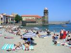 Collioure, magnifique village (15 mn en voiture). Collioure,beautiful village (15 minutes drive).
