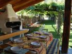 colazioni in giardino