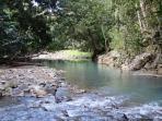 rivière à150m des gîtes