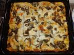 Lasagne made by Giorgia for our guests