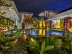 Villa Banyu Fish Ponds & Pool