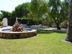 Jardin et barbecue