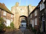 Landgate, Rye, from the High Street