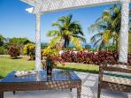 Relax in your private Ocean View Patio and watch the boats sail by...