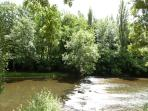 The River Aveyron