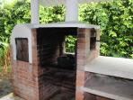 BBQ + Wood fired oven